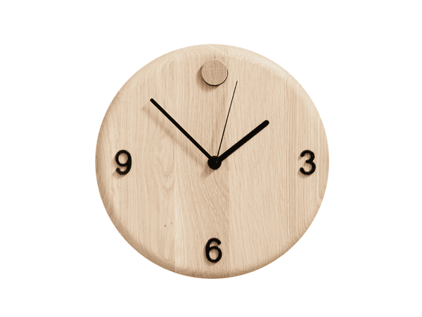Wood Time vægur