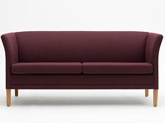 London sofa fra Nielaus bordeaux