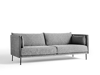 Silhouette 3 personers sofa fra Hay