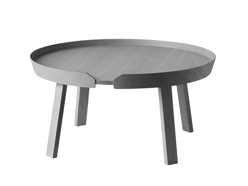 Muuto Around Coffee Table XLarge i Dark Grey