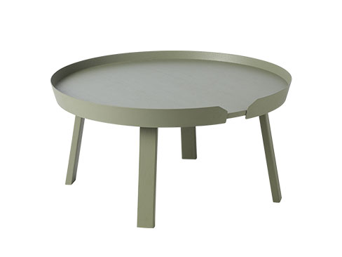 Muuto Around Coffee Table Large i Dusty Green
