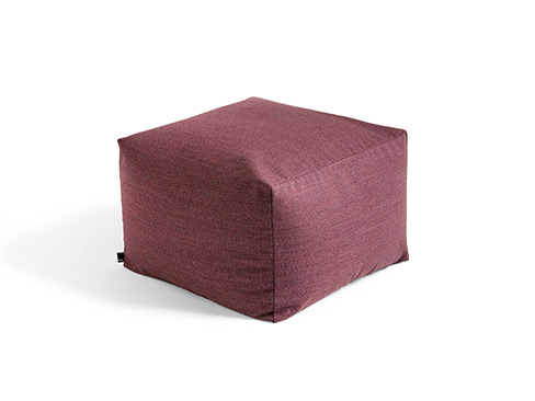 Pouf Limited Edition fra HAY i farven Plum
