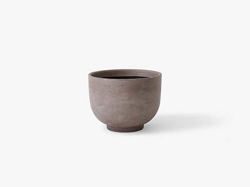 collect planter sc43 silver grey fra &tradition