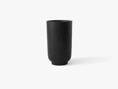 collect planter sc45 fra &tradition i shadow grey