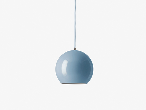 topan vp6 lampe fra &tradition light blue