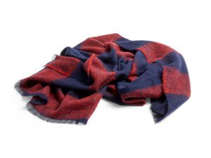 Mohair plaid Red fra HAY